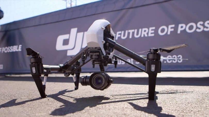 DJI T600 Inspire 4K Quadcopter